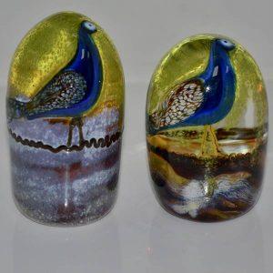 Trevor (Peacock) paperweights